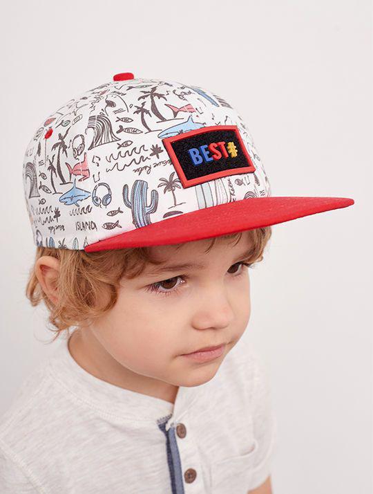 Летние детские кепки